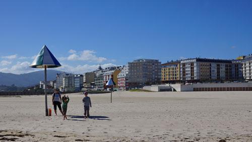 Den Praia a Rapadoira hatten wir für uns ganz alleine!