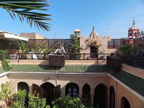 Unsere Suite auf Dach des Riad Dama