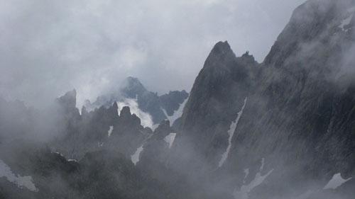 Wenn Berge Furcht einflössen...