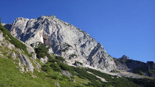 Auf der Höhe des Scheibenkaser: Das Massiv des Berchtesgadener Hochthrons