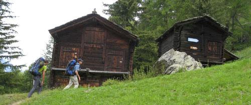 Aufstieg zur Domhütte