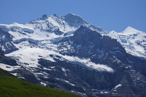 Die Jungfrau (4'158m).