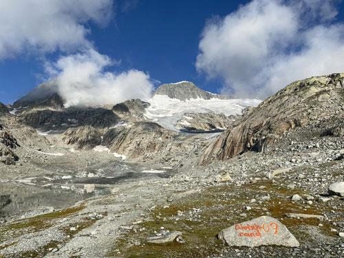Noch vor 11 Jahren kam der Gletscher noch bis hierher!