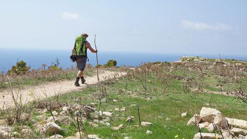 09/2019: Unterwegs auf meiner Inselumrundung von Gozo (MLT)