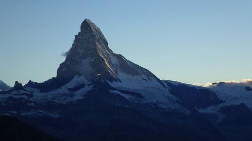 Der Toblerone berg. Auch bekannt als Matterhorn.