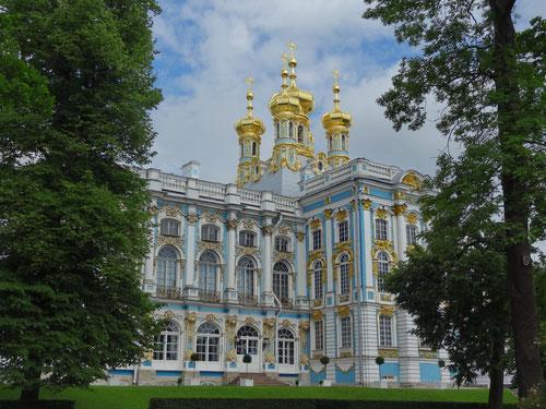 Der prächtige Katharinenpalast.
