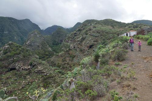 Abstieg zum Barranco Fagundo