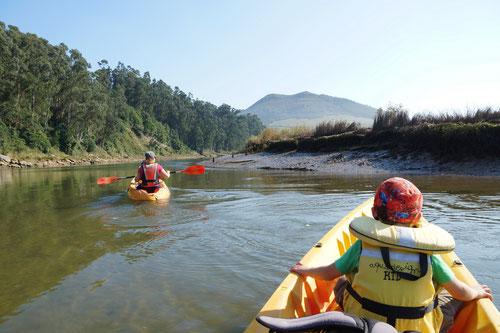 Kanutour auf dem Rio Pas.