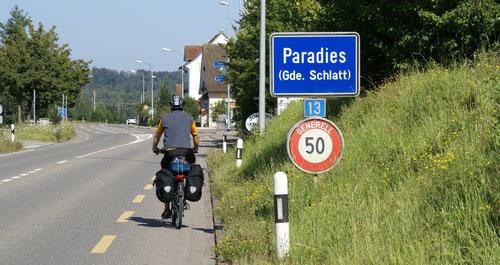 """Das """"Paradies"""" des Durchgangsverkehrs und leider nicht der Velofahrer"""