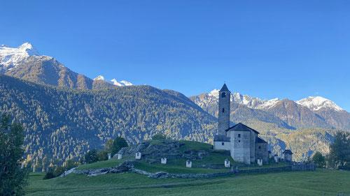 Die katholische Pfarrkirche Santi Lorenzo e Agata.