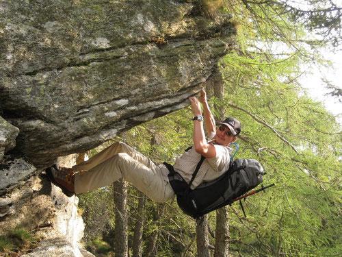 Kein Weg zu schwierig: Alpendude Marc