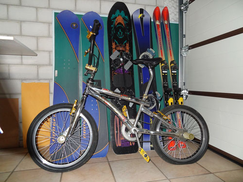 Die Ausgangslage: Boards, Skis and normal Bikes