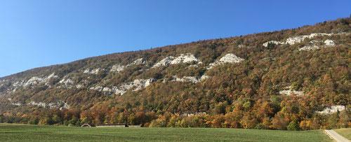 Die Felsen vom Les Prés d'Orvin
