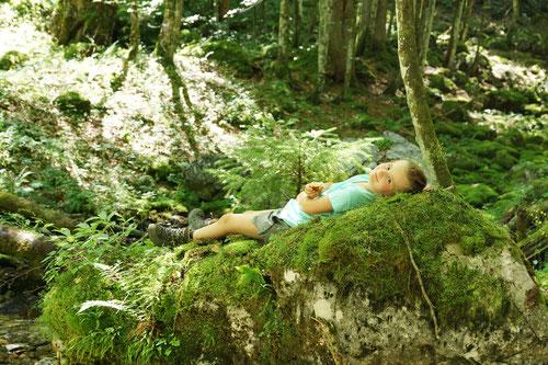 Wer schneller Wandert hat mehr Zeit sich auszuruhen.