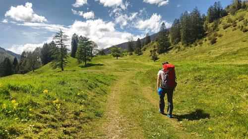 La Metteneux nach der Ortschaft Undervelier.