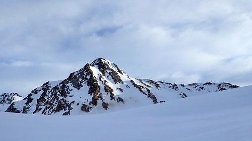 Der Piz Porchabella (3'078m) - unser Zielgipfel.