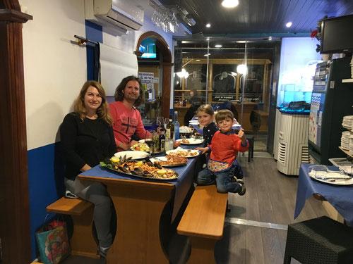 Ferienabschlussessen imRestaurant Fina.