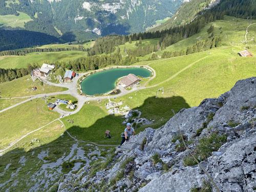 2020/07: Auf dem Zittergrat Brunni (CH/OW)