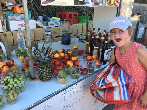 Frische Früchte vom Bauern