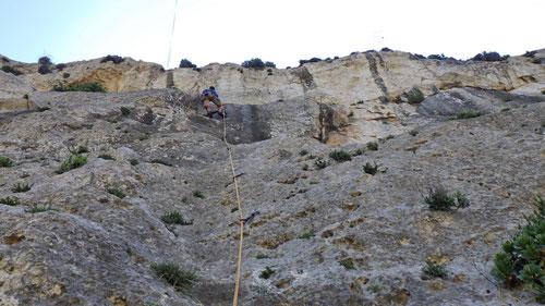 Klettern im Wied Babu