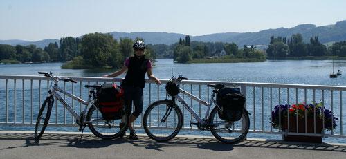 Die Brücke nach Stein am Rhein