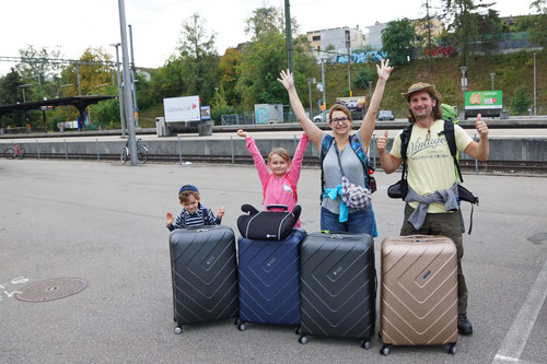 Liestal Bahnhof: Ready to go!