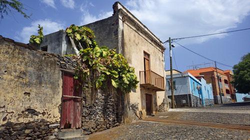 In den Strassen von São Filipe.