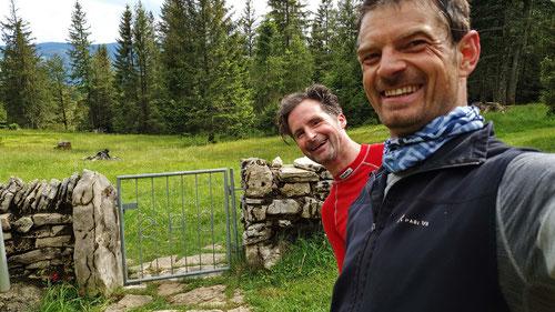 Bei der Cabane Raimeux des SAC Delémonts (1'236m)