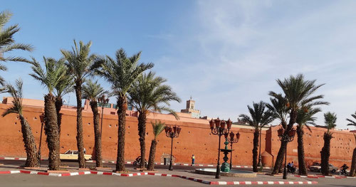 Stadtmauer bei Bab Agnaou