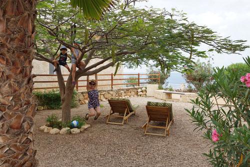 Im Garten des Casita Solemars
