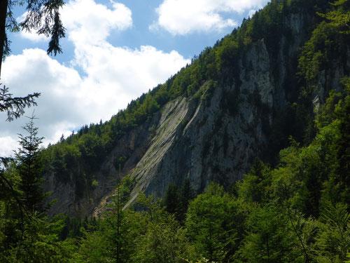 Das ist sie - die grösste Felsplatte des Juras
