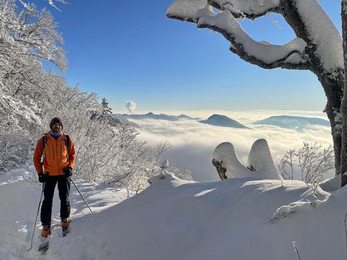 Zauberhafte Schneelandschaft.