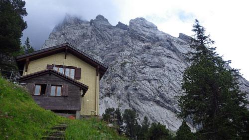 Die Engelhornhütte.