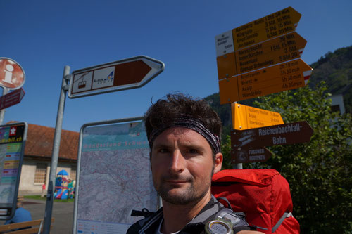 Ausgangsort Meiringen  - Los geht's!