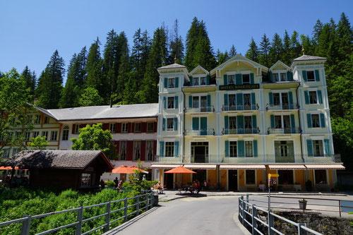Das nostalgische Hotel Rosenlaui.