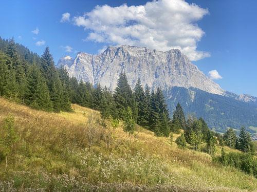 2020/09: Die Zugspitze im herbstlichen Dekor (D/A)