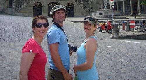 In Fribourg, der Ausgangspunkt der Wanderung