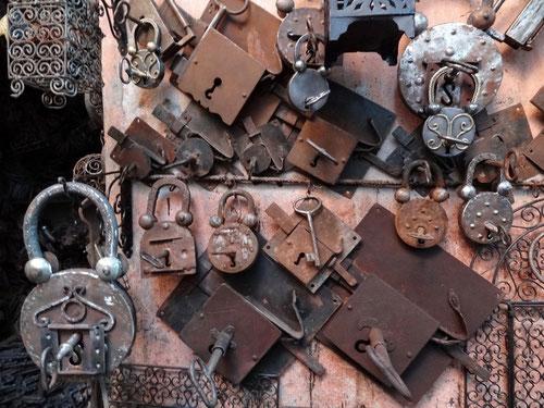 Für Eisenwarenliebhaber ist Marrakesch ein Paradies