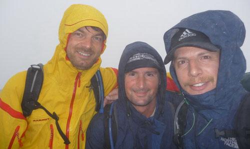 Auf dem Gipfel des Le Brevent (2525m)
