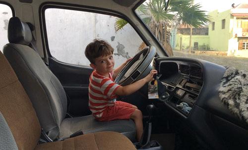 Unser Ersatzbusfahrer