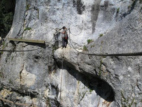 Die Einseil-Hängebrücke