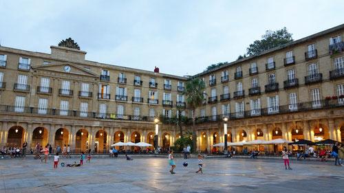 Plaza Berria in Bilbao