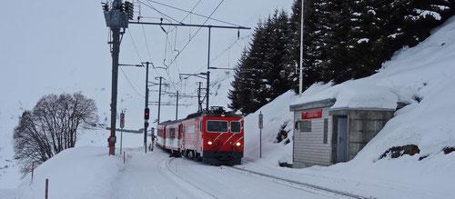 Es folgte die Rückreise - Einmal quer durch die Schweiz
