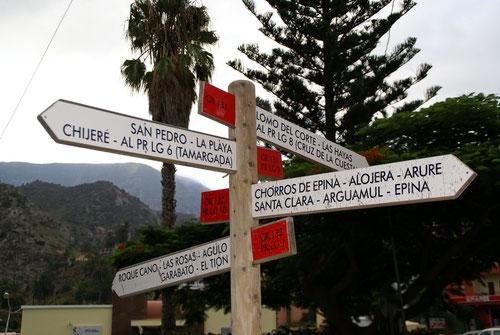 Vallehermoso, ein Ausgangspunkt für viele Wanderungen