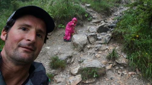 Auf dem Weg zur Grünsteinspitze