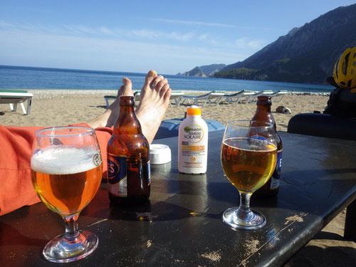 Entspannung am Beach.