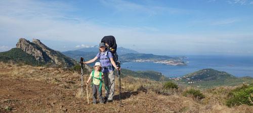 Herrliche Ausblicke die Inselhauptstadt Portoferraio