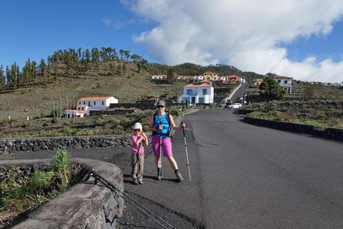 Kurz nach Abmarsch in Los Canarios