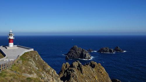 Der Punta de los Aguillós mit dem Cabo Ortegal.