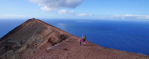 Volcán Teneguía: Der letzte Gipfel unserer Durchquerung